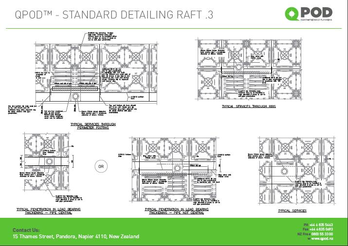 QPOD™ – Standard Detailing dwg.