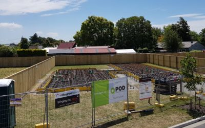 100 Percent Recycled Flooring by QPOD New Zealand