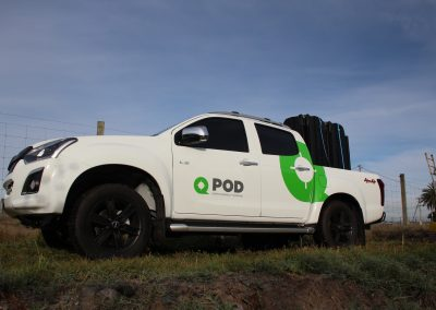QPOD SAVES ON TRANSPORTATION
