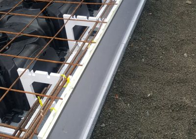 QPOD Earth Friendly Flooring with QuickSet Formwork Edge