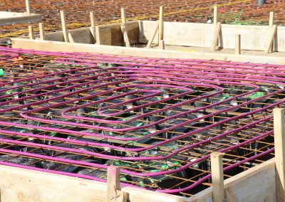 QPOD Flooring System with Underfloor Heating